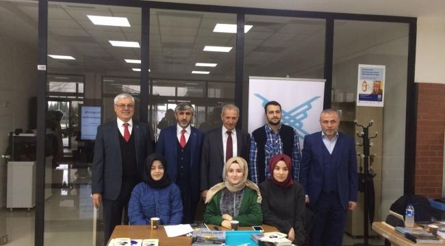 Dişli'den İlahiyat Fakültesi Dekanı Bostancı'ya Ziyaret