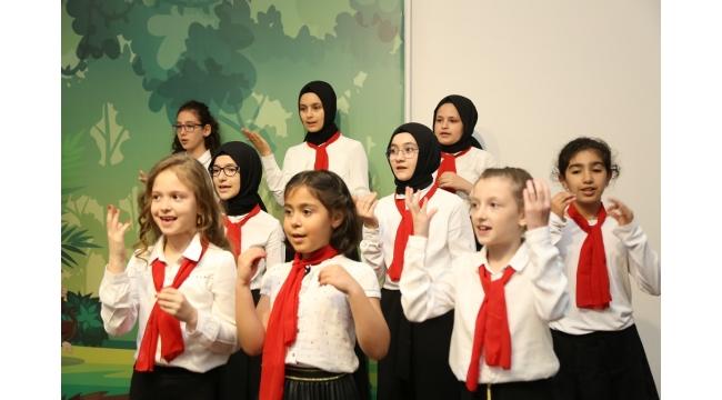 Serdivan da Çocuklar Sahne Aldı