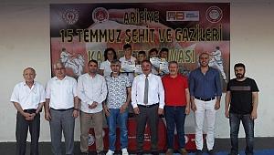 Arifiye'de 15 Temmuz Şehit ve Gazileri Turnuvası Düzenlendi