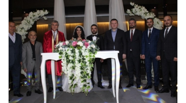 MHP'li Şimşek Dünya Evine Girdi