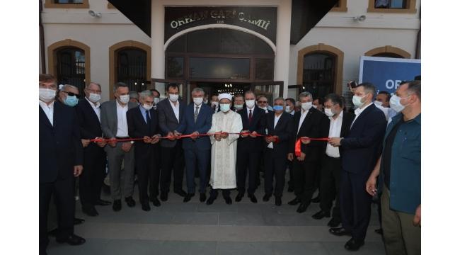 Orhan Cami ibadete açıldı